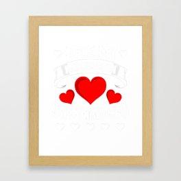 Love My Kindergarten Sweethearts Framed Art Print
