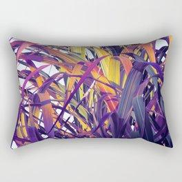 Bight Colorful Bamboo Rectangular Pillow