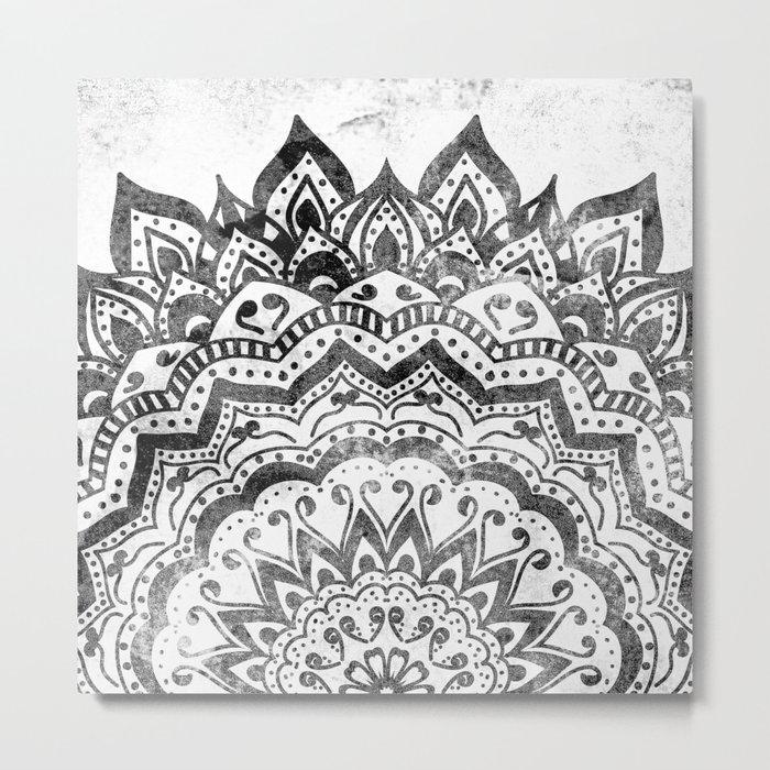 ORION JEWEL MANDALA Metal Print