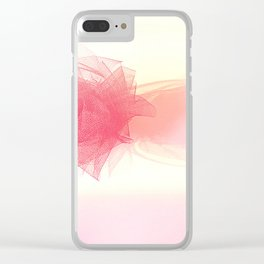 Pinkest pink Clear iPhone Case