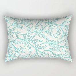 Branches – Mint Palette Rectangular Pillow