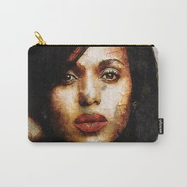 Portrait of Kerry Washington Carry-All Pouch