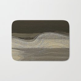 Black Venus Wind Bath Mat