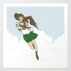 Sailor Jupiter Art Print