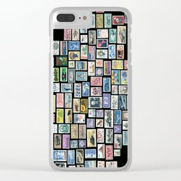 US Mail Clear iPhone Case