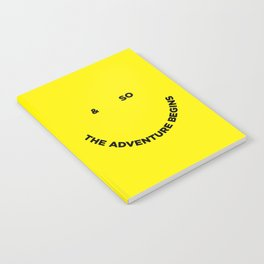 & So the Adventure Begins Notebook
