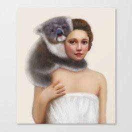 Miss Koala Canvas Print