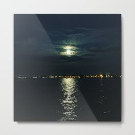 Super Full Moon Metal Print