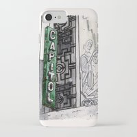 philippines iPhone & iPod Cases featuring Philippines : Capitol Theater by Ryan Sumo