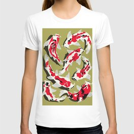 Koi Carp Zen T-shirt