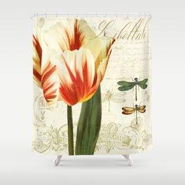 Natural History Sketchbook II Shower Curtain