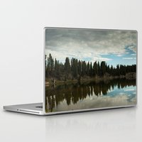 country Laptop & iPad Skins featuring Country  by Julie Luke