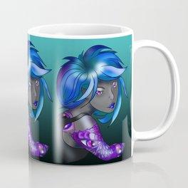 Dark elf in shades of blue Coffee Mug