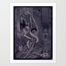 Night of the Sacrifice Art Print