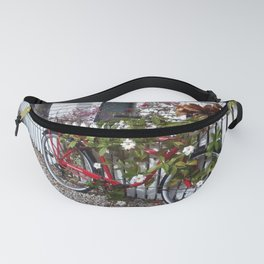 Red bicycle. Fanny Pack