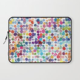 Watercolor Drops Laptop Sleeve