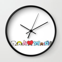 All Together by Ania Mardrosyan Wall Clock