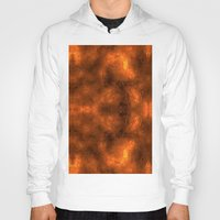 gold foil Hoodies featuring Gold Foil Texture 6 by Robin Curtiss