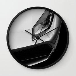 Silver 488 Wall Clock