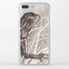 Dragon refuge Clear iPhone Case