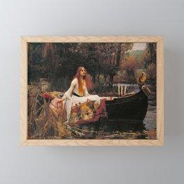 The Lady of Shalott Framed Mini Art Print