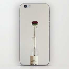 The Flower in the Bottle iPhone Skin