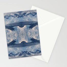Nordic Blues Stationery Cards