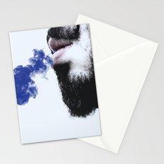 Sir blue smoke Stationery Cards