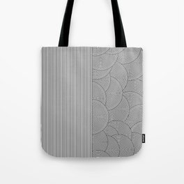 Two Lines Tote Bag