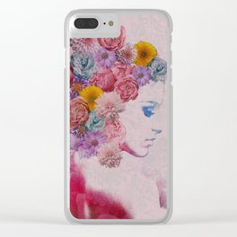 Painted Fairy Clear iPhone Case