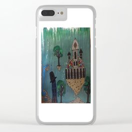 My Floating City Clear iPhone Case