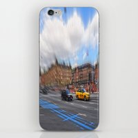 street iPhone & iPod Skins featuring street by  Agostino Lo Coco