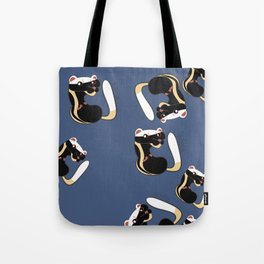 African Wildlife Poecilogale (African Weasel) Tote Bag