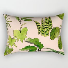 Fronds & Friends Rectangular Pillow