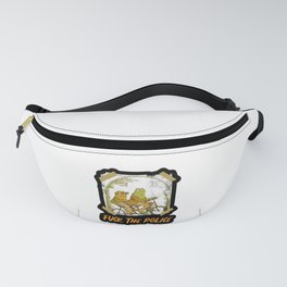 frog and toad fuck the police Fanny Pack