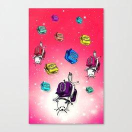 G-Cat Bounce Canvas Print