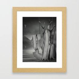 """Semailles """"B"""" Framed Art Print"""