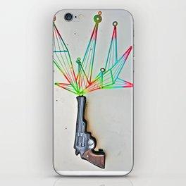 Dirty Harry Fractal  iPhone Skin
