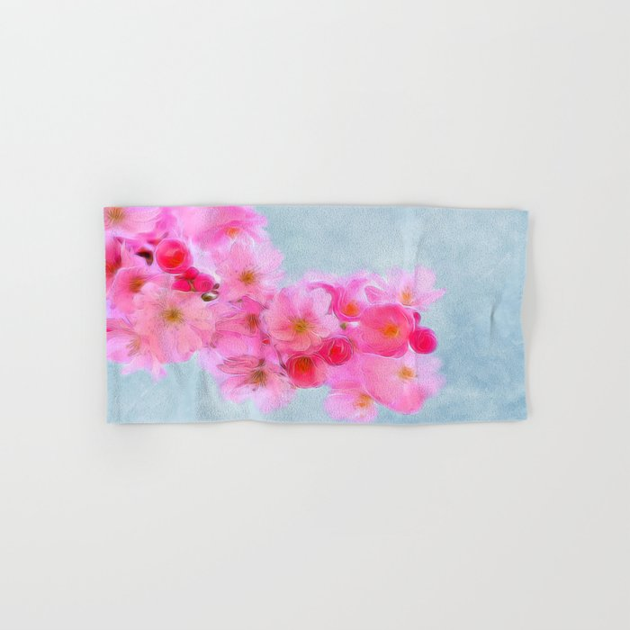 Cherry Blossom (in memory of Mackenzie) Hand & Bath Towel