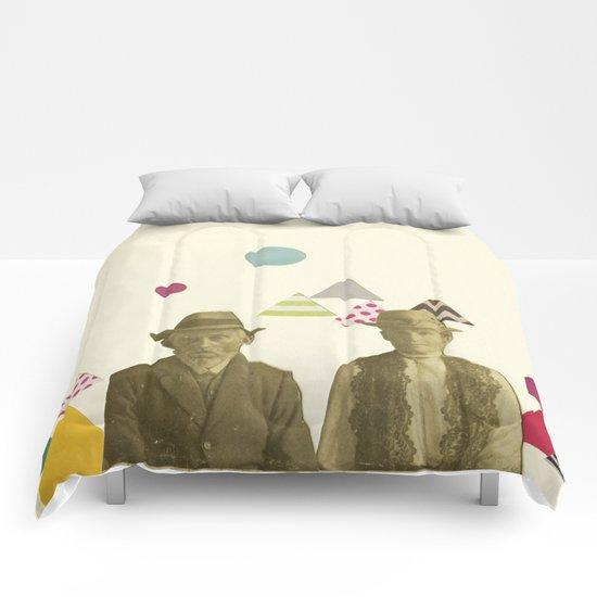 Childhood Sweethearts Comforters