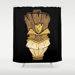 Freaki Tiki Shower Curtain