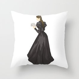 Leave a note for your next of kin, tell'em where you been. Throw Pillow