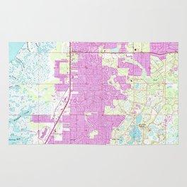 Port Richey Florida Map.Richey Rugs Society6