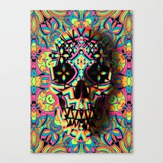 Fancy Skull Canvas Print