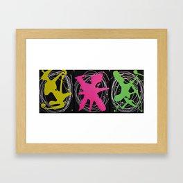Splash Brights  Framed Art Print