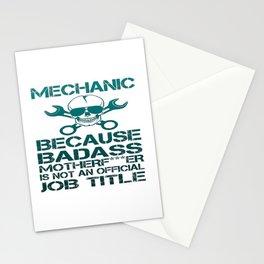 BADASS Mechanic Stationery Cards