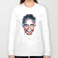 obama Long Sleeve T-shirts featuring Obama by I AM DIMITRI
