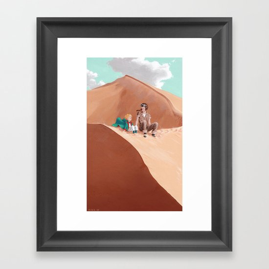 Unique in all the World Framed Art Print