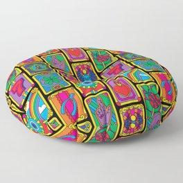 Good Luck Charms Floor Pillow