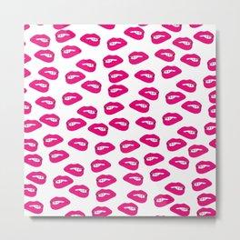 Kisses and Nibbles Metal Print